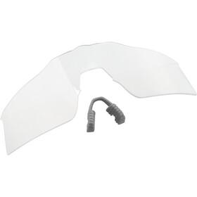 100% Speedcraft HD Multilayer/Hiper Glasses Tall white/neon orange